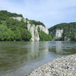 Danube river — Stock Photo