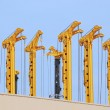 Drilling rigs — Stock Photo #6394100