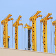 Stock Photo: Drilling rigs