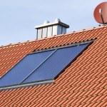 Solar heating system — Stock Photo #6395037