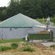 Stock Photo: Biogas production