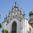 Basilica St. Ulrich — Stock Photo