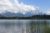 Karwendel Mountain lake — Stock Photo