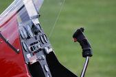 Gyrocopter cockpit — Stock Photo
