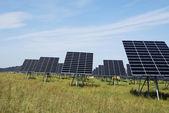 Green solar energy — Stock Photo
