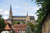 Michaelsberg Monastery in Bamberg — Stock Photo