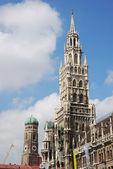 Staden hus i münchen — Stockfoto