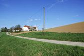 Lonely farm house — Stock Photo