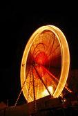Big wheel at night — Stock Photo