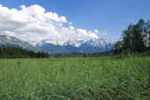 Karwendel view — Stock Photo