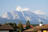 Alpine village — Stock Photo
