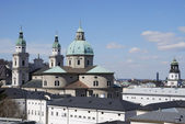萨尔茨堡大教堂 — 图库照片