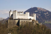 Hohensalzburg cas — Stock Photo