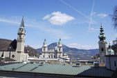 Salzburg churches — Stock Photo
