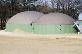 Biogas production — Stock Photo
