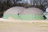 Biogas-produktion — Stockfoto
