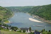 莱茵河峡谷 — 图库照片