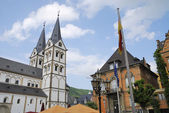 Market place in Boppard — Stock Photo