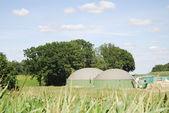 Biogas production — Stock Photo
