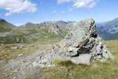 Rocks and mountains — Stock Photo