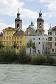 Innsbruck cathedral — Stock Photo