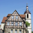 Stock Photo: Halftimbered house