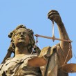 Stock Photo: Justitia
