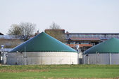 Biogas — Stock Photo