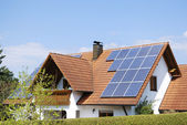 Photovoltaic installation — Stock Photo
