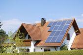 Photovoltaic installation — Stock Photo