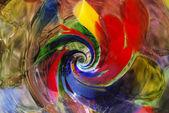 Fond abstrait verre — Photo