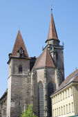 St. Johannis church in Ansbach — Stock Photo