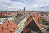 Roofs of Regensburg — Stock Photo