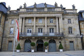 Old opera house of Bayreuth — Stock Photo
