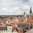 World Heritage Site Regensburg — Stock Photo