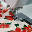 Christmas Sewing — Stock Photo