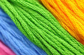 Embroidery Threads — Stock Photo