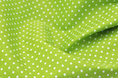 Polka dot fabric — Stock Photo