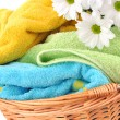 Fresh Towels — Stock Photo