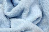 Soft Blue Baby Blanket — Stock Photo