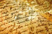Eski kitap detayı — Stok fotoğraf