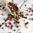Stock Photo: Peppercorn Mix