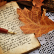 Autumn Diary — Stockfoto