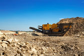 Stone crusher — Stock Photo