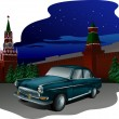 Russian car — Stock Vector