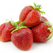 Ripe, red strawberry. — Stock Photo #6380558