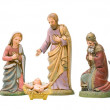 Nativity Set Isolated — Stock Photo #6734900