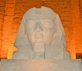 Head of Ramses II at Luxor Temple — Stock Photo