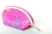 Růžový mince kabelka — Stock fotografie