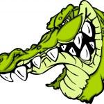 caricature de mascotte Gator ou alligator — Vecteur